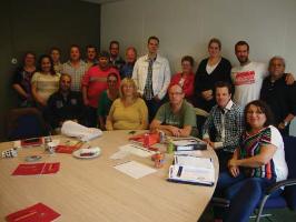 Lidl Gewerkschaftsgruppe Niederlande Mai 2015
