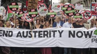 Grossdemo gegen Austerität London 20. Juni 2015