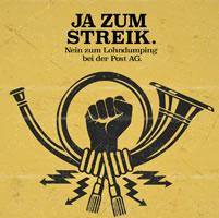 Marx21: Solidarität mit den Streikenden bei der Post