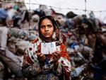 Ein Opfer des Fabrikeinsturzes in Bagladesch 2013