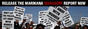 Die Kampagne für die Veröffentlichung des Farlam-Berichts zum Massaker von Marikana ist zu Ende - und alle sind im Juni 2015 entlastet