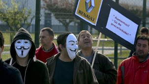 Renault Portugal bestreikt: Erfolgreich für ein Ende des Subunternehmen-Unwesens (Mai 2015)