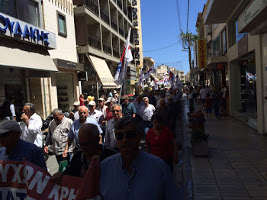 Rentnerdemo Athen im Juni 2015