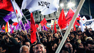Pro Syrizademo Athen Juni 2015