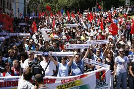Demonstration Lissabon am 22. Juli 2015 gegen das EU Diktat