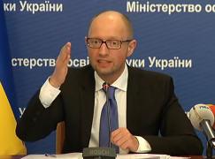 Jazenjuk - im Juni 2015 unbeliebtester ukrainischer Kämpfer für die rechten