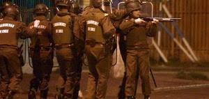Sie haben nur zufällig tödlich geschossen - chlenische Spezialeinheit am 24. Juli 2015