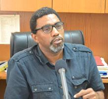 Gewerkschaftssprecher der Barbados Workers Union zum Streik im Juli 2015