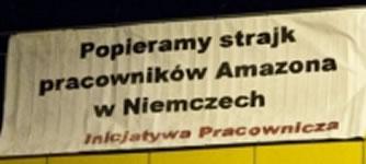 Polnische Gewerkschaft fordert höhere Löhne für Amazon-Mitarbeiter