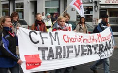 ver.di kämpft für Tarifverträge bei Charité CFM Facility Management