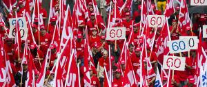 Bauarbeiterdem Zürich Rente 60 muss bleiben Juni 2015