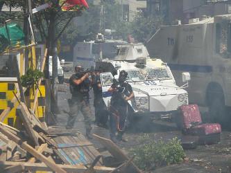 Der Beginn des tödlichen Polizeieinsatzes in Istanbul am 24. Juli 2015