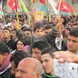 Solidaritätskundgebung mit Rojava im März 2015