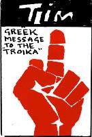 Griechenland an die Troika