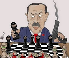 Union Solidarity International: Erdoğan uses ISIS to attack the Kurds