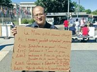 Genfer Hungerstreik des marokkanischen Journalisten'Ali Lmrabet