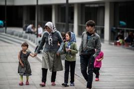 Die ungarische Recht sieht: Ungarns Untergang sind Flüchtlinge, hier im Juli 2015 in Budapest.