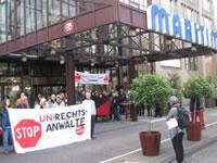 Erfolgreicher Protest. Schreiner-Serminar im Kölner Maritim abgesagt