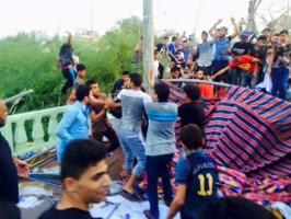 Der Überfall der religösen Miliz auf das Erwerbslosen-Protestlager in Basra am 21. August 2015