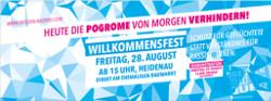 Heute die Pogrome von morgen verhindern! Heidenau/ Dresden, 28./29. August 2015