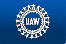 Logo der amerikanischen Automobilarbeitergewerkschaft UAW