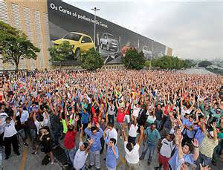 VW Streikversammlung August 2015