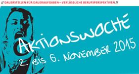 GEW: Aktionswoche Traumjob Wissenschaft 2. bis 6. November 2015