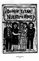 Kampagnenplakat Jahrestag der mexikanischen Verschwundenen 26. September 2015