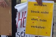 """Projekt """"Organisieren-Kämpfen-Gewinnen"""": """"Wer den Streik nicht ehrt, lebt verkehrt"""""""