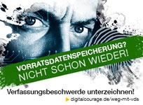 Digitalcourage e.V.: Verfassungsbeschwerde gegen Vorratsdatenspeicherung