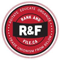 Logo des kanadischen gewerkschaftlichen Basisnetzwerks Rank and File