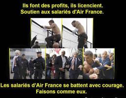 Air France: Heftiger Widerstand gegen Massenentlassungen