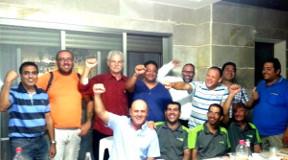 Das betriebliche Aktionskomitee für WAC-Maan feiert im September 2015 seinen Erfolg