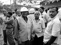 Gespräche mit indischen Leiharbeitern, die dem Multi HolcimLafarge die Stirn bieten von Saline