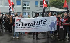 Lebenshilfe Frankfurt e.V. gegen gewerkschaftlich aktive Kolleg*innen