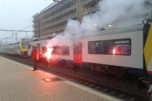 Bahnstreik Lüttich 20.10.2015