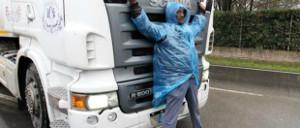 Logistikstreik in Italien - Februar 2015