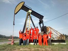 Ölfeld im Bundesstaat Heiliger Geist - bestreikt seit 1.11.2015
