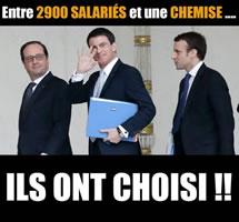 """Das """"Imperium Air France"""" will säubern: Aktivisten entlassen!"""