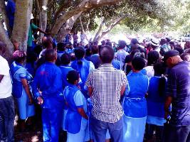 Gemeinsamer Protest in Kapstadt: Studis und outgesourcte Beschäftigte erfolgreich am 4.11.2015