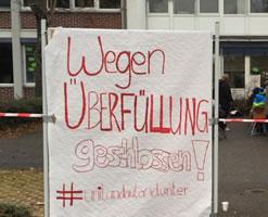 Streik legt Universität Landau lahm - Studierende bundesweit solidarisch gegen Unterfinanzierung und Ausbeutung