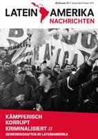 """LN-Dossier """"Gewerkschaften in Lateinamerika"""""""