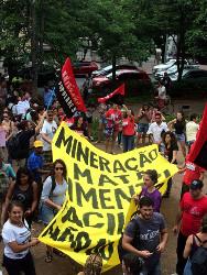 Protestkundgebung in Mariana 15.11.2015