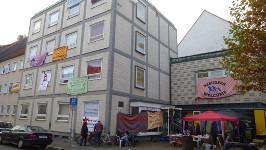 Göttingen: ehemaliges DGB-Haus besetzt. November 2015