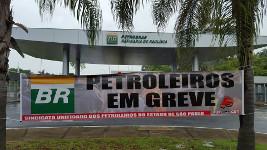 Petroleiros em Greve - Ölarbeiterstreik in Brasilien, November 2015