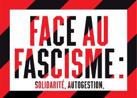 CNT-Plakat vom 20.11.2015 gegen Faschismus
