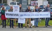 Protest gegen Venovia, Bild: Mieterverein Bochum, Hattingen und Umgegend e. V.