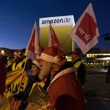 Beschäftigte an mehreren Amazon-Standorten streiken bis Heiligabend