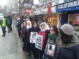Antikriegsdemo Frauen Ankara 27.12.2015