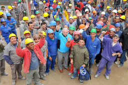 Baurbeitserstreik: Brasilien, Dezember 2015